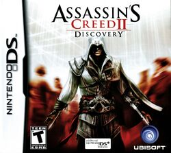 Box artwork for Assassin's Creed II: Discovery.