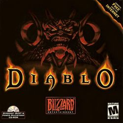 Box artwork for Diablo.