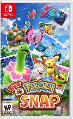 Box artwork for New Pokémon Snap.