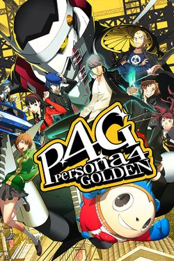 Box artwork for Persona 4 Golden.