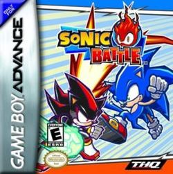 Box artwork for Sonic Battle.