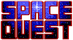 The logo for Space Quest.