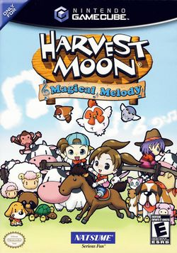 Box artwork for Harvest Moon: Magical Melody.