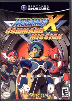 Box artwork for Mega Man X: Command Mission.