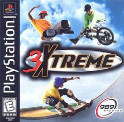 Box artwork for 3Xtreme.