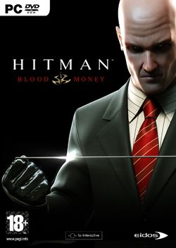 Box artwork for Hitman: Blood Money.