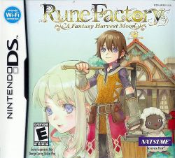 Box artwork for Rune Factory: A Fantasy Harvest Moon.