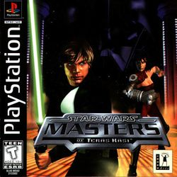 Box artwork for Star Wars: Masters of Teräs Käsi.