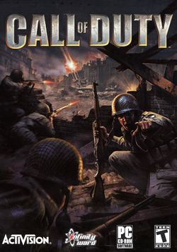 Box artwork for Call of Duty.