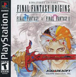 Box artwork for Final Fantasy Origins.