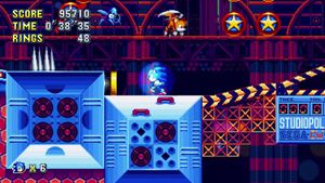 Sonic Mania/Studiopolis — StrategyWiki, the video game