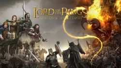 Box artwork for The Lord of the Rings: Legends of Middle-earth.
