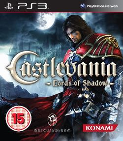 Box artwork for Castlevania: Lords of Shadow.