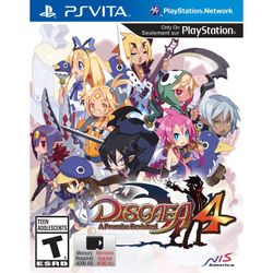 Box artwork for Disgaea 4: A Promise Revisited.