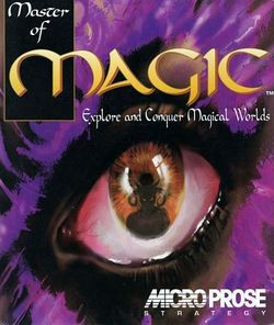 Box artwork for Master of Magic.