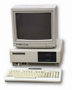 The console image for Tandy 1000.