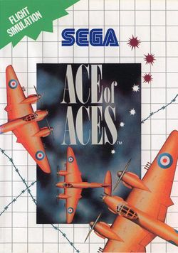 Box artwork for Ace of Aces.