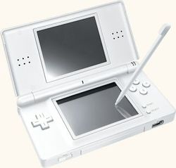 The console image for Nintendo DS Lite.