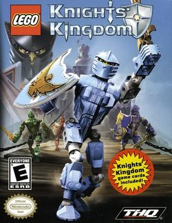 Box artwork for LEGO Knights' Kingdom.