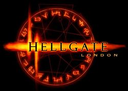 Box artwork for Hellgate: London.