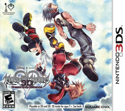 Box artwork for Kingdom Hearts 3D: Dream Drop Distance.