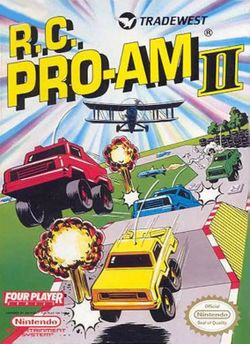 Box artwork for R.C. Pro-Am II.