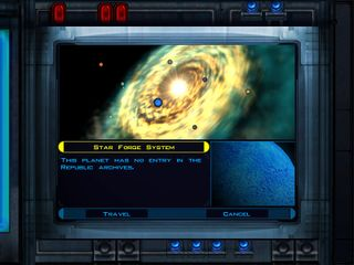 Star Wars: Knights of the Old Republic/Star Forge System