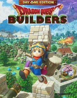Box artwork for Dragon Quest Builders.