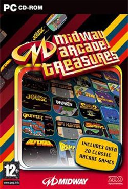 Box artwork for Midway Arcade Treasures.
