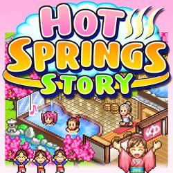 Box artwork for Hot Springs Story.