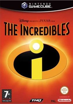 Box artwork for The Incredibles.