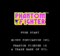 Phantom Fighter NES title.png
