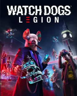 Box artwork for Watch Dogs: Legion.