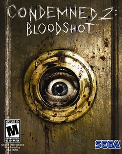 Box artwork for Condemned 2: Bloodshot.