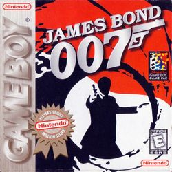 Box artwork for James Bond 007.