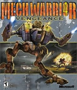 Box artwork for MechWarrior 4: Vengeance.