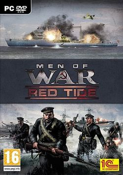 Box artwork for Men of War: Red Tide.