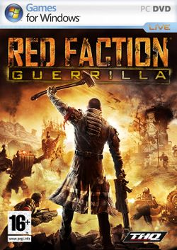 Box artwork for Red Faction: Guerrilla.