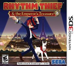 Box artwork for Rhythm Thief & the Emperor's Treasure.