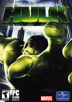 Box artwork for Hulk.