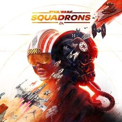 Box artwork for Star Wars: Squadrons.