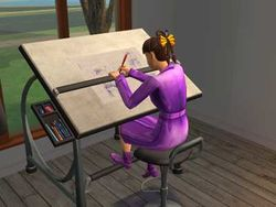 SIM series Drafting Table by QuicKraft