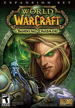 Box artwork for World of Warcraft: The Burning Crusade.