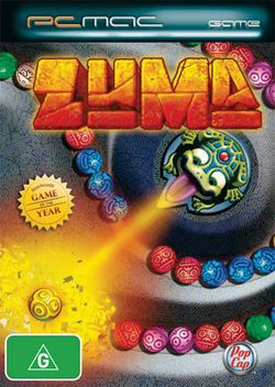 Box artwork for Zuma.