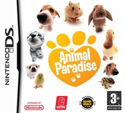 Box artwork for Animal Paradise.