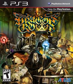 Box artwork for Dragon's Crown.