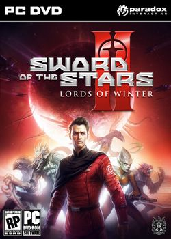 Box artwork for Sword of the Stars II: The Lords of Winter.