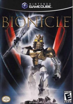 Box artwork for Bionicle: The Game.