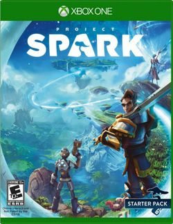 Box artwork for Project Spark.