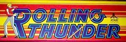 The logo for Rolling Thunder.